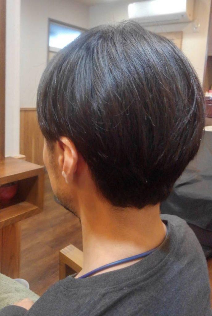 men'sヘアドネーション