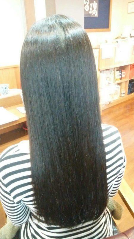 【IPMヘナ】黒髪ロングにも!