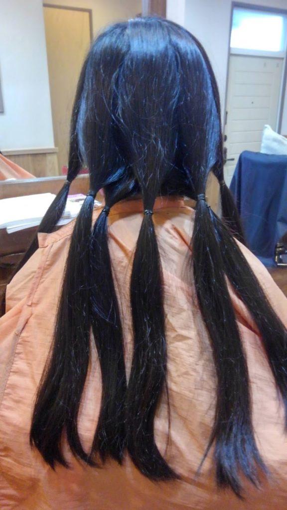 【つな髪】ヘアドネーション31cm☆☆