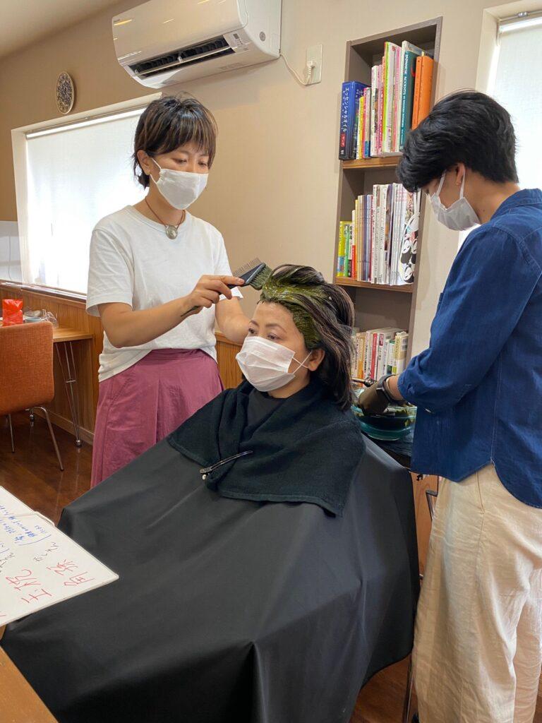ヘナインストラクター美容師講座をしました✨